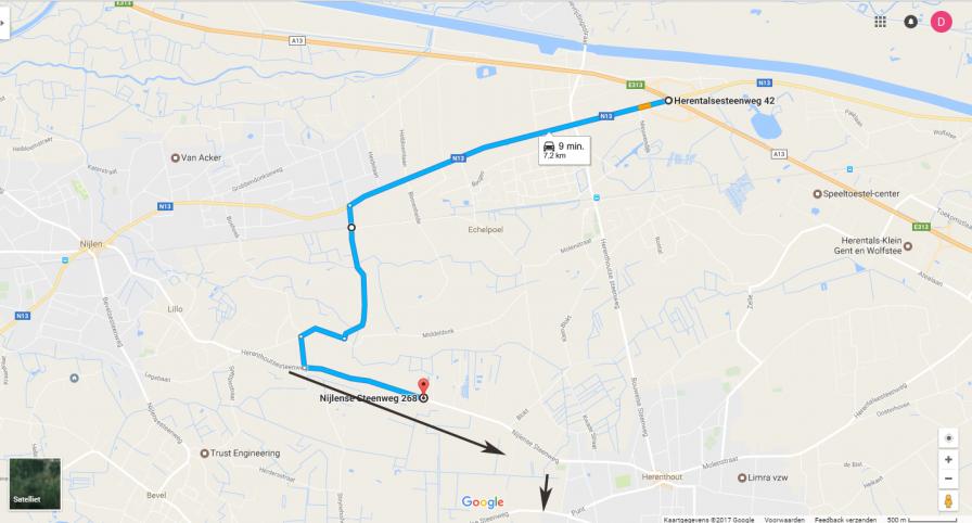 Flanders Diamond Tour – bereikbaarheid